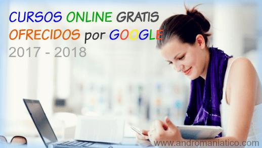 Cursos online gratuitos certificados por GOOGLE