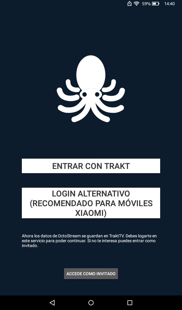 abrir octostream app